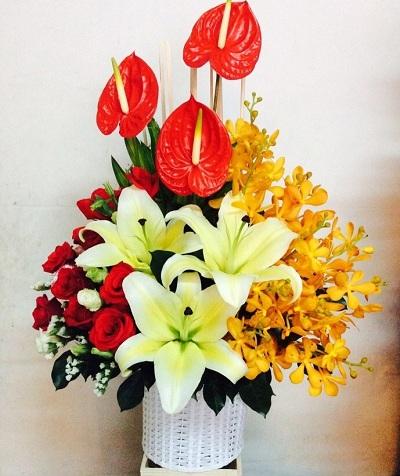 Gio hoa tặng sinh nhật